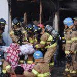 Al menos 41 fallecidos en un incendio en un hospital de Corea del Sur