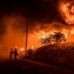 Accidentes e incendios en las celebraciones por Año Nuevo en Perú