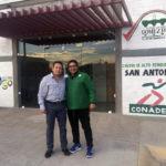 Álvarez Manilla supervisa los preparativos de la etapa Estatal de Olimpiada.