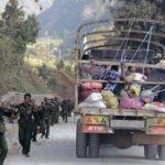 Cinco soldados, heridos en una emboscada en el conflictivo oeste de Birmania