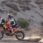 Cancelan para las motos la duodécima etapa del Dakar