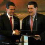 Cartes y Peña Nieto acuerdan avanzar negociación de complementación económica