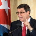 El canciller Bruno Rodríguez recibe a congresistas de EEUU de visita en Cuba