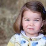 La princesa Carlota va por primera vez a la guardería