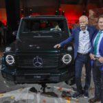 Mercedes-Benz desvela en Detroit la nueva generación del todoterrenos Clase G