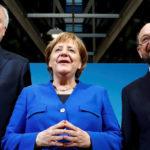 Merkel y Schulz analizan avance negociaciones para formar una gran coalición