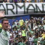Multitud despide a Armani, el de más títulos ganados con el Atlético Nacional