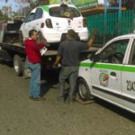 Disminuyen taxis piratas en la capital