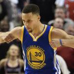 105-121. Curry anota 45 puntos y establece mejor marca de la temporada
