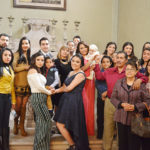 Bautizaron al pequeño Jorge Payán Moreno