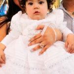 Giselle Samary Rodríguez Mena recibió las aguas benditas del Jordán