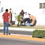 Se lanzó al vacío el hombre causándose serias lesiones con las cuales se lo llevaron al hospital 450