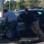 Accidente vial entorpece circulación del bulevar Francisco Villa