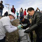 Se une Aispuro a 1500 duranguenses para limpiar la ciudad
