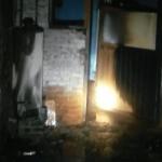 Incendio en casa de El Huizache 1 por fuga de gas de un cilindro averiado