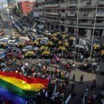 Comunidad LGTB india pide en las calles la legalización de la homosexualidad