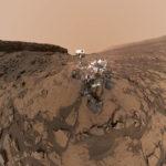 Robot Curiosity suma dos mil amaneceres marcianos