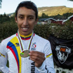 Egan Bernal, del Sky, se corona campeón de Colombia en contrarreloj