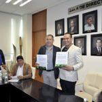 COBAED firma convenio con protección civil estatal