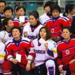 Jugadoras del equipo intercoreano de hockey protagonizan emotiva despedida