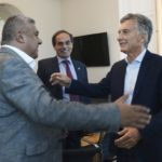 Macri estudia la candidatura al Mundial 2030 con el presidente de la AFA