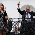 """Moreno se propone """"construir un nuevo Ecuador"""" tras el triunfo en su consulta"""