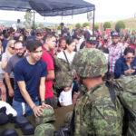 La 10/a. Zona Militar, invita a la ciudadanía a la Ceremonia de Bienvenida del personal de conscriptos del Servicio Militar Nacional clase 1999