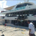 Unos 18 heridos deja la explosión de un barco en mexicana Playa del Carmen