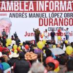 Andrés Manuel López Obrador cerrará campaña en Durango, Zacatecas y Aguascalientes