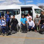 Despiden a basquetbolistas de silla sobre ruedas