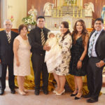 Bautizan a la pequeña Alexa Guadalupe