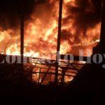 Arde la Casa del Indígena y las cosas de 60 familias quedan reducidas a cenizas