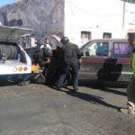 Fuga de gas tras choque de pipa causa alarma en el Barrio de Tierra Blanca