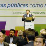 Gobiernos debemos estar cerca de quienes invierten y generan empleo: Aispuro