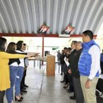 Toma protesta sociedad de alumnos del COBAED Forestal