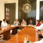 Se reúnen diputados con  subsecretario de transportes