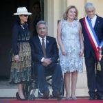 El presidente de Ecuador ofrece sus mejores augurios a Piñera y a Chile