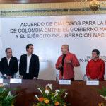 Gobierno de Colombia y ELN retoman la negociación de paz al sureste de Quito