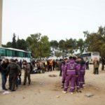 Comienza la evacuación de los últimos rebeldes de Guta Oriental en Siria