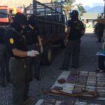 Hallan 132 kilos de cocaína en un camión y detienen a dos guatemaltecos