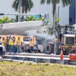 Implicados en obra hablaron de crujido poco antes de caída de puente de Miami