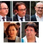 Prisión sin fianza para el candidato a presidente catalán y otros procesados