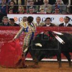 Joselito Adame corta la única oreja en la segunda corrida de Texcoco
