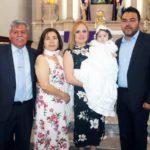 Fernanda Michelle Núñez Pérez recibió el sacramento del bautismo