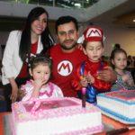 Cumpleaños de los hermanitos Quiñones Macías