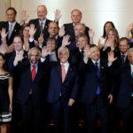 Juran los 23 integrantes del nuevo gabinete de Sebastián Piñera