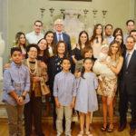 Bautizan a la pequeña Greta Rodríguez Guerrero