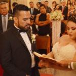 Unieron sus vidas en sagrado matrimonio Diana y Javier