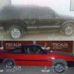 Tres carros robados fueron abandonados
