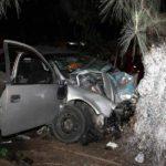 Cuatro personas mueren al chocar su auto contra un árbol en el centro de Cuba